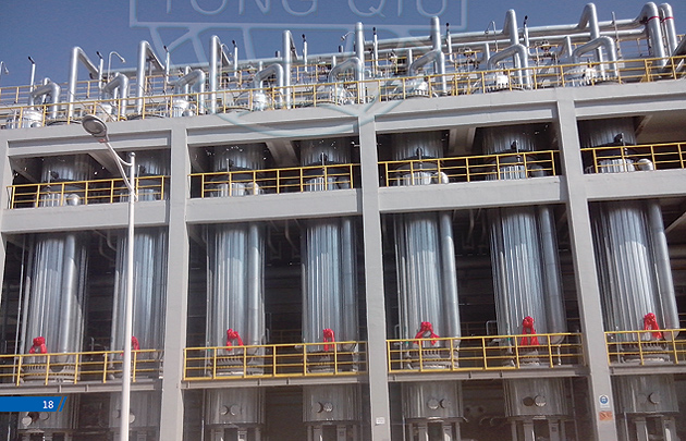 SZL combined type graphite HCL synthesis furnace with steam generation